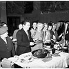 Thanksgiving...outpatients turkey party, 1951