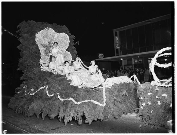 Loyola College Homecoming Parade, 1951