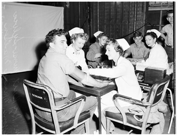 "Blood Donor (USS ""Pine Island""), 1951"