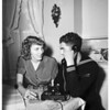 Sailor and girl to wed... court appoints guardian to give consent, 1951