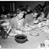 Thanksgiving...Sunshine Mission dinners, 1951