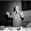 Football writers meeting, 1951