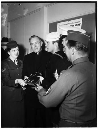 United Services Organization Catholic Servicemen's Center, 1951