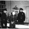 Death stabbing suspect...at Georgia Street Hospital, 1951