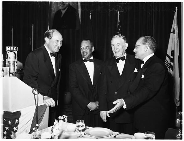 Democratic National Committee Dinner (The Palladium), 1951