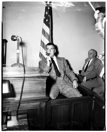 """Man from Mars"" Bandit Inquest, 1951"