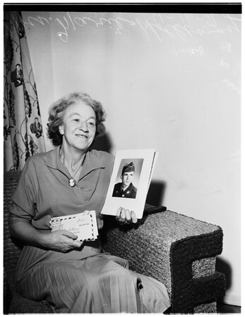 Mrs. Marie Holloway, 1951