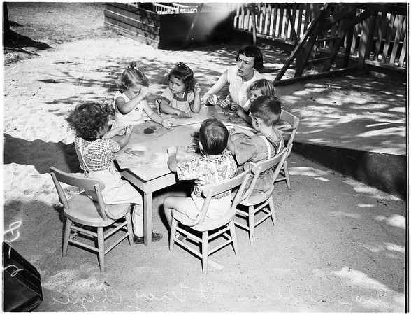 School for Deaf Children (Tracy Clinic), 1951