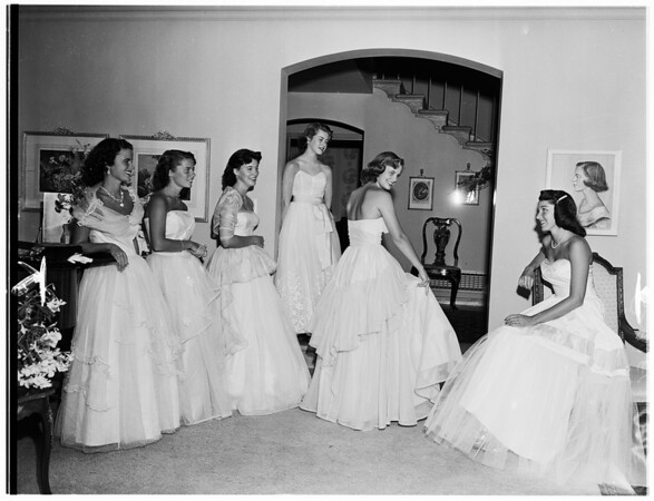 Coronet Ball, 1951
