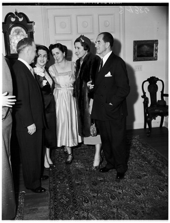 Cocktail party, 1951
