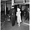Attack victim runs nude, 1951