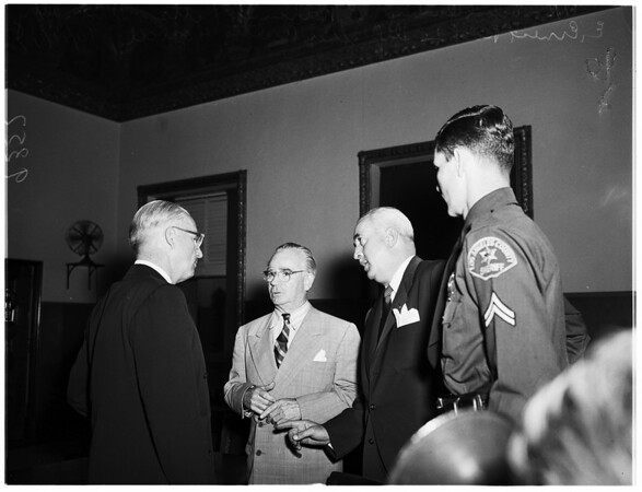 Darby indicted, 1951