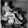 Magazines for friendship drive, Pasadena, 1951
