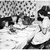 Justus family Thanksgiving dinner, 1951