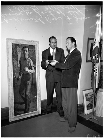 Greek Theatre Art Show Medal Award, 1951