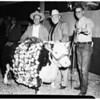 Livestock show auction, 1951
