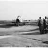 Plane accident at Long Beach Airport, 1951