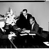 Beverly Hills Santa Fe ticket office opening, 1951