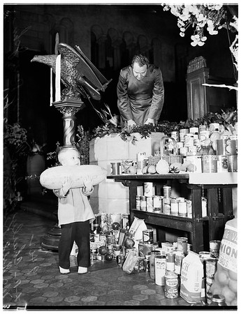 Thanksgiving Day at Saint Paul's Cathedral, 1951