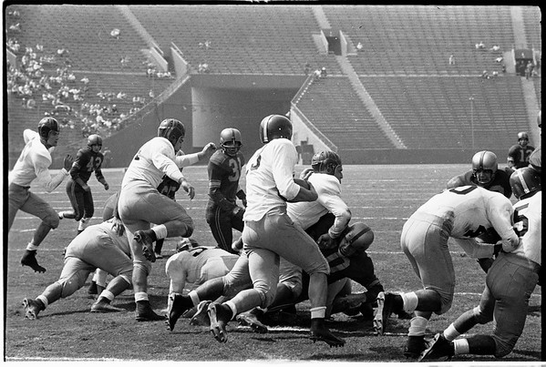 University of Southern California versus Camp Pendleton Marines, 1951