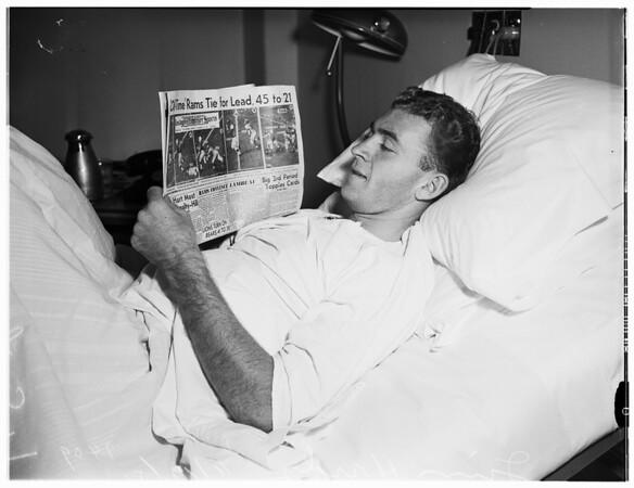Professional football player, 1951
