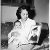 Baby pictures for overseas, 1951