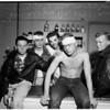 Beating of five juveniles on coliseum grounds ...Georgia Street Receiving Hospital, 1951