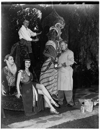 Society ...Theatre Arts Ball, 1951