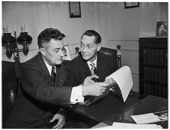 Libel Suit, 1951