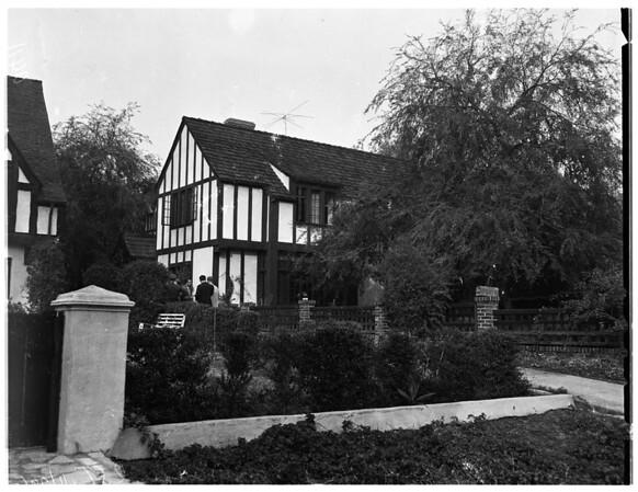 Bookie Raid (1107 San Pasqual Street in Pasadena), 1951