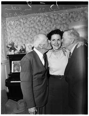 Brothers reunited after forty-seven years, 1951