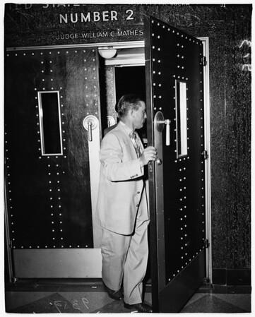 Guaranty Finance trial, 1951