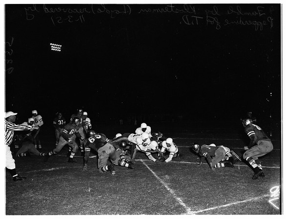 Pepperdine University versus Loyola Marymount University, 1951