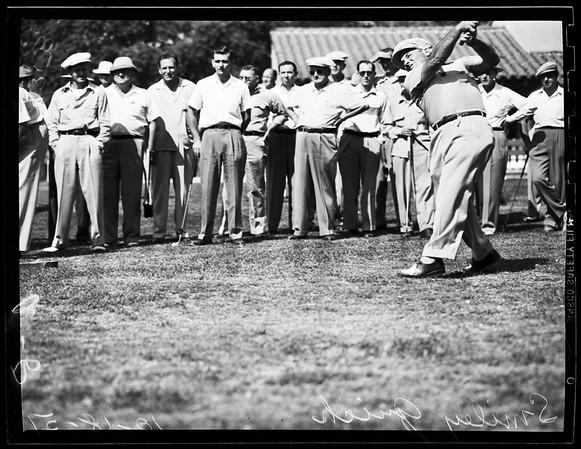 Sports -- Golf, 1951