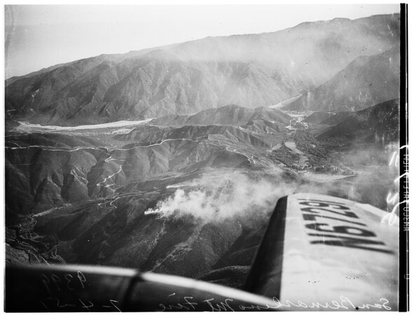 San Bernardino Mountain fire, 1951