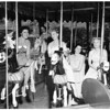 Glendale Young Republicans (Griffith Park Merry-Go-Round), 1951