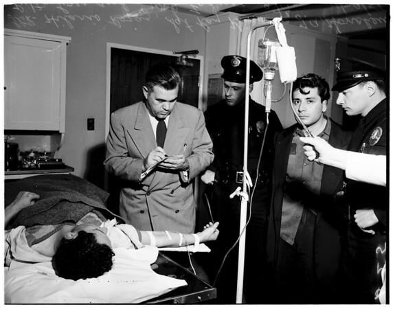 Shooting in West Los Angeles, 1951