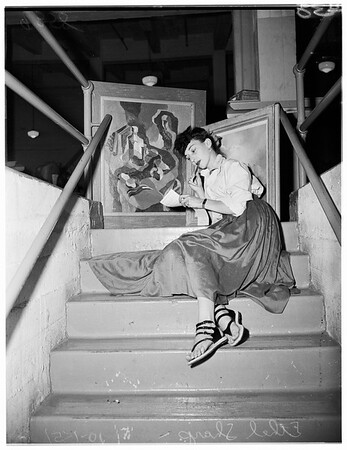 City art show, 1951