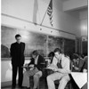 Examiner History Awards Contest at Catholic Girls High School, 1951