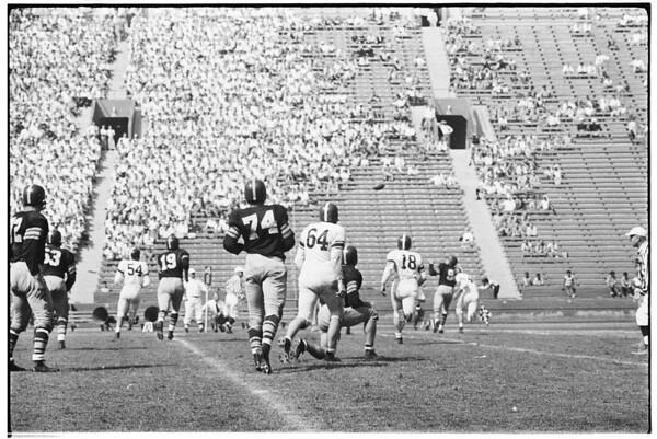 Football (University of Southern California versus Washington State University), 1951