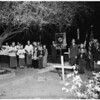Candlelight Ceremony at San Fernando, 1951