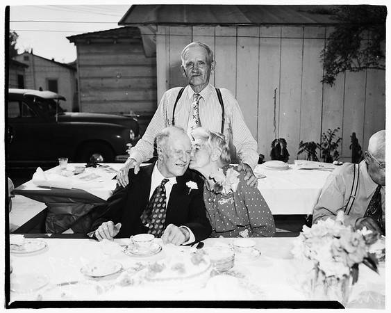 Sixtieth Wedding Anniversary...1429 West 218th Street, 1951