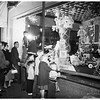 Christmas store windows, 1951