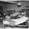 Thanksgiving...choirs sing at General Hospital, 1951