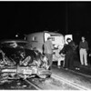 Traffic accident at 6223 Santa Monica Boulevard, 1951