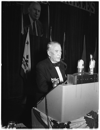 Democratic National Committee Dinner (The Palladium), 1951