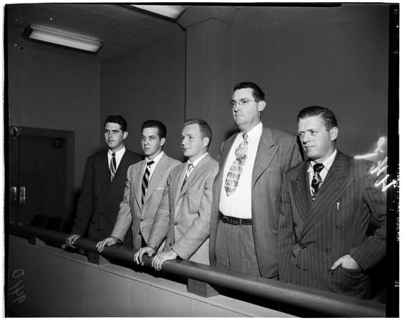 Hearing for Deputy Sheriff, 1951