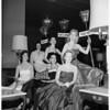 French Anniversary Ball at the Ambassador Hotel, 1951