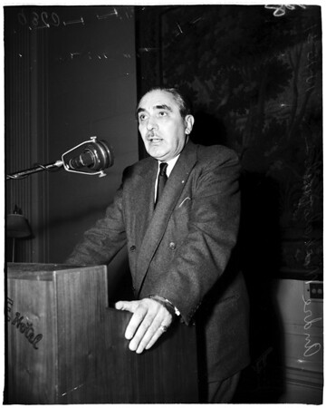 Greek advisor interview, 1951