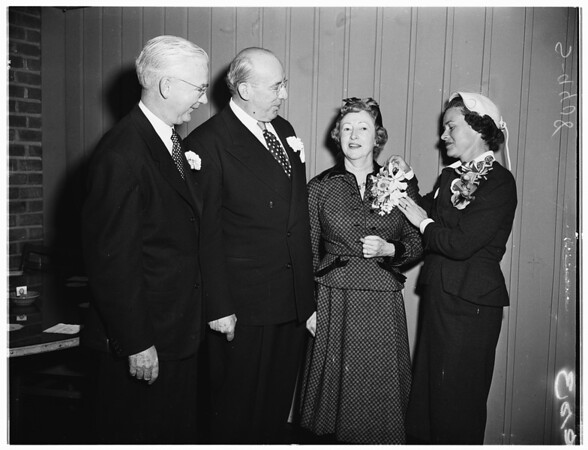 Society Wedding, 1951